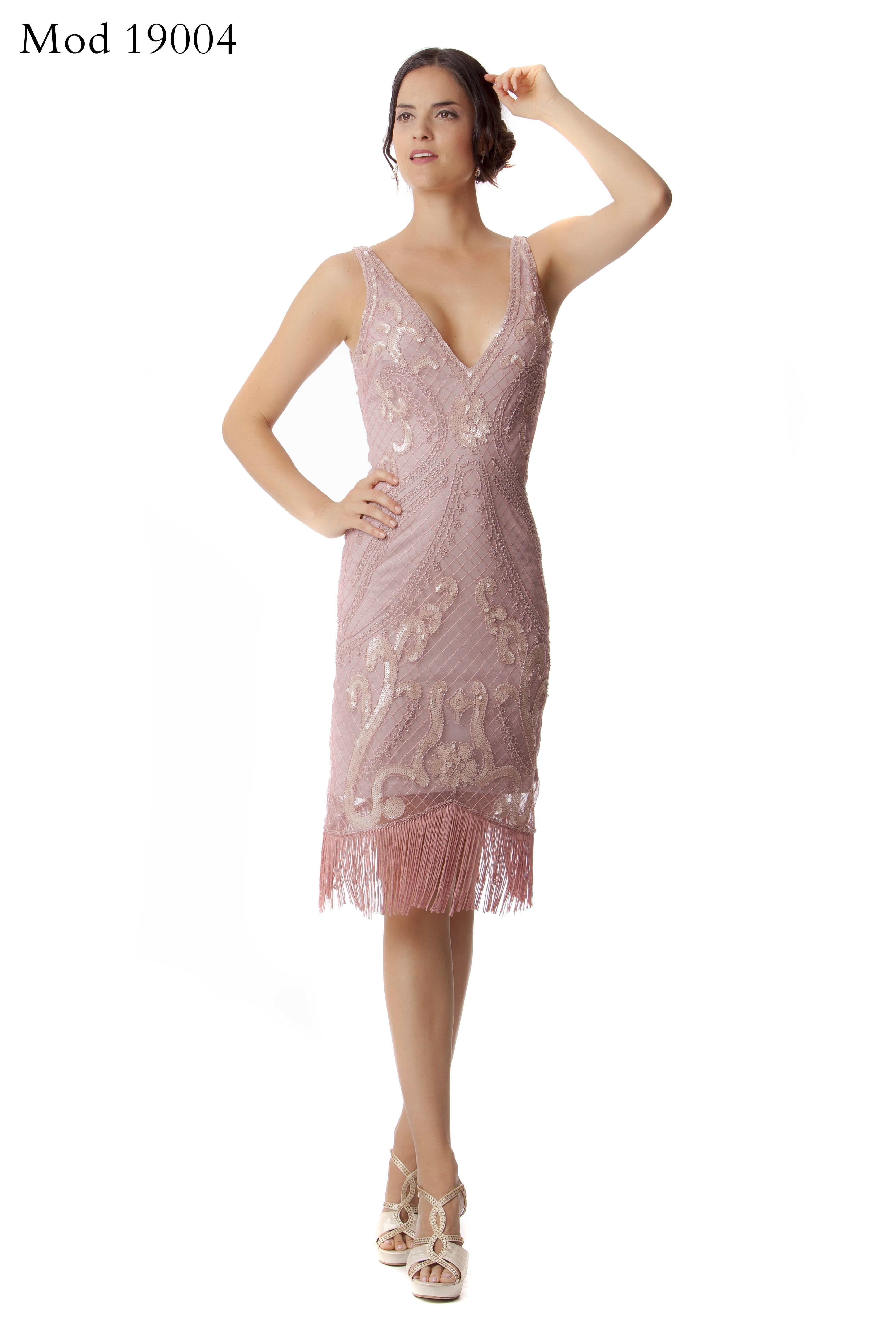 MOD. 19004 vestido fiesta lentejuelas
